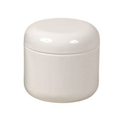 White Dome Jar, 8 oz