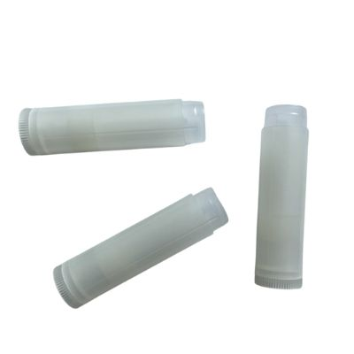 Natural Lip Balm Tubes, Twist Bottom
